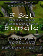Woodland Encounters 3 pack Bundle
