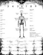 Xas Irkalla Character & Settlement Sheets