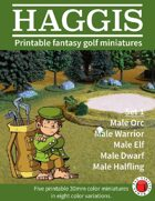HAGGIS Printable Fantasy Miniatures Set 1