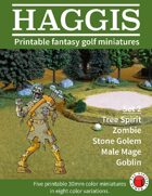 HAGGIS Printable Fantasy Miniatures Set 2