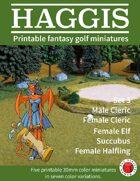 HAGGIS Printable Fantasy Miniatures Set 3