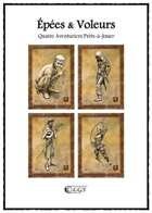 Quatre Aventuriers (Épées & Voleurs)