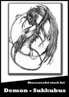 BlaszczecArt Stock Art: Demon - Sukkubus