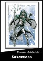 BlaszczecArt Stock Art: Sorceress