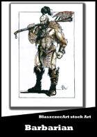 BlaszczecArt Stock Art: Barbarian 2