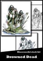 BlaszczecArt Stock Art: Drowned dead