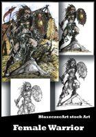 BlaszczecArt Stock Art: Female Warrior