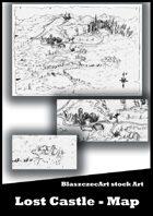 BlaszczecArt: Lost Castle Map