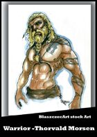 BlaszczecArt Stock Art: Warrior