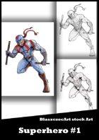 BlaszczecArt Stock Art: Superhero #1