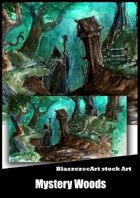 BlaszczecArt Stock Art: Mystery Woods
