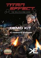Titan Effect RPG: Demo Kit (Alternate Edition)