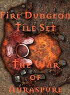 The Fire Dungeon Tile Set   The War of Auraspure