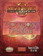 Clockwork Dreams Character Options