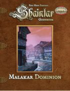 Shaintar Guidebook: Malakar Dominion