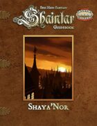 Shaintar Guidebook: Shaya'Nor