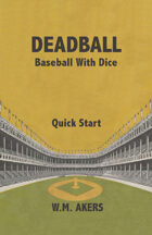 Deadball Quick Start