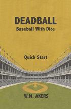 Deadball Quick Start