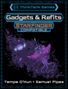 Gadgets & Refits for Starfinder
