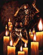 Blues Harper - RPG Stock Art