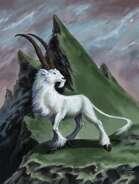Horned Beast - RPG Stock Art