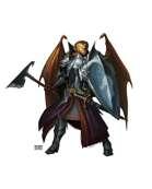 Male Dragonkin - RPG Stock Art