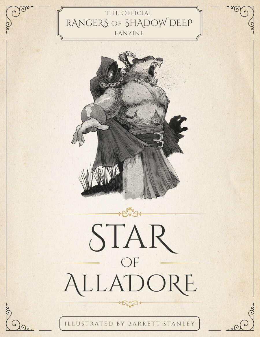 Star of Alladore: The Official Rangers of Shadow Deep Fanzine