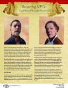 Recurring NPCs: Lord Ranulf & Lady Elowhere
