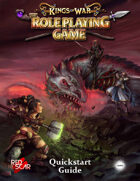 Kings of War the Roleplaying Game Quickstart