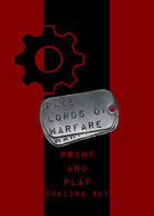 RAZE: Lords of Warfare P&P -- Dueling Set