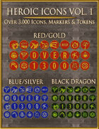Heroic Icons Volume 1 [BUNDLE]