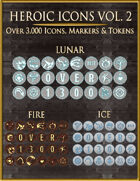 Heroic Icons Volume 2 [BUNDLE]