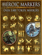 Heroic Markers: Gold