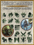 Heroic Markers: Black & Green