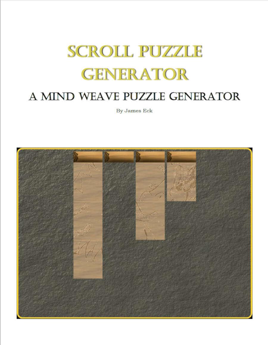 Scroll Puzzle Generator