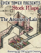 Arcanist's Lair - Stock Map