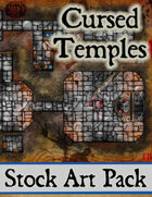 Cursed Temples - Stock Art