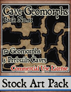 Cave Geomorphs - Stock Art