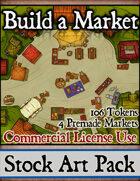 Build a Market - Stock Art