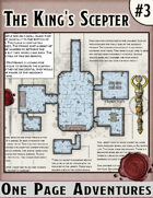 The King's Scepter - One Page Adventure