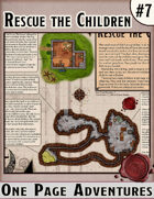 Rescue the Children - One Page Adventure