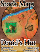 Druid's Hut - Stock Map
