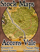 Acorns Vale - Stock Map