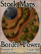 Border Tower - Stock Map