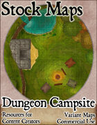Dungeon Campsite - Stock Map