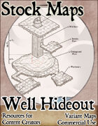 Well Hideout Isometric Dungeon - Stock Map