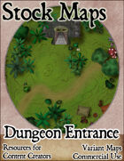 Dungeon Entrance - Stock Map