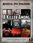 A Killer Among Us - Swift Adventures