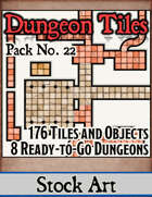 Dungeon Tiles - Stock Art Pack