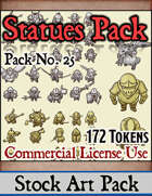 Statues - Stock Art Pack